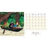 Tintin 2021 desk calendar (13.5 x 13.5 cm)