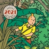 Tintin 2021 Calender (30x30 cm)