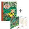 Agenda (21x16 cm) + Calendário (13.5 x 13.5 cm) 2021 Tintin