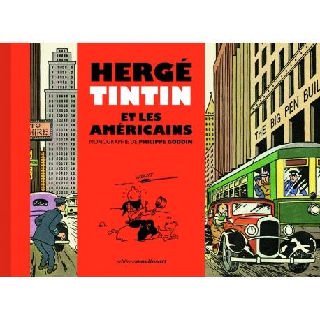 Hergé, Tintin et les Américains