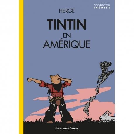 Tintin en Amérique colorisé (FR)