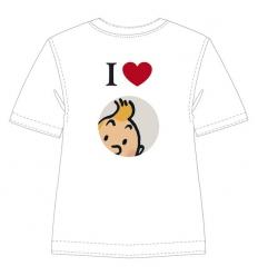T-shirt I Love Tintin