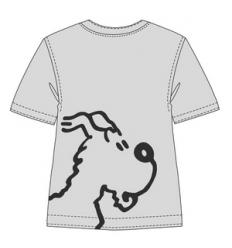 T-shirt Snowy (grey)