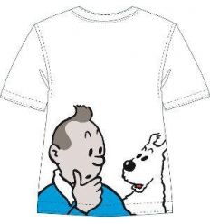 T-shirt TINTIN AND SNOWY