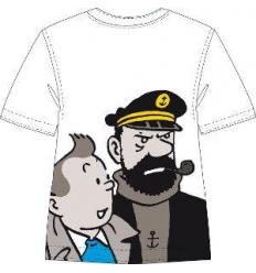 T-shirt Tintin & Haddock