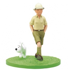 TINTIN AND SNOWY GO EXPLORING