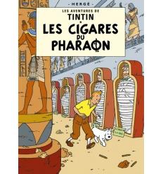 Postal Les Cigares du pharaon