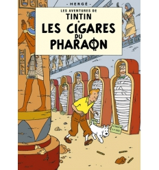 Postcard Les Cigares du pharaon