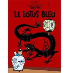 Postal Le Lotus bleu