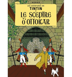 Postcard Le Sceptre d'Ottokar