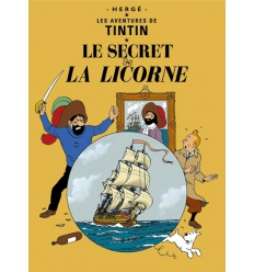 Postal Le Secret de La Licorne