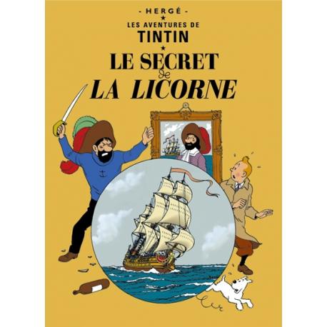 Postal O segredo do Licorne