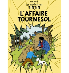 Postcard L'Affaire Tournesol
