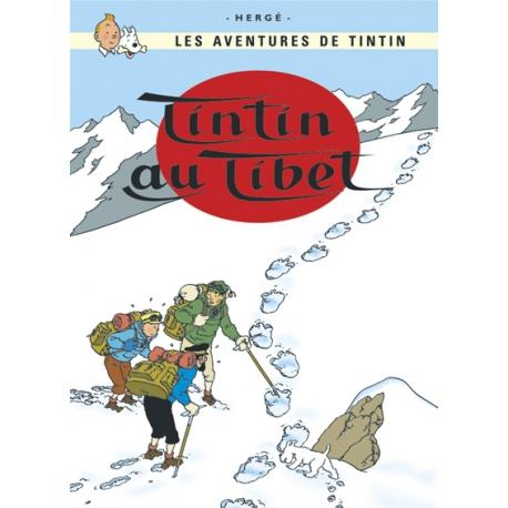 Postal Tintin no Tibet