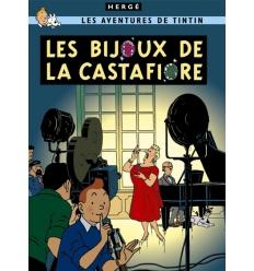Postcard Les Bijoux de la Castafiore