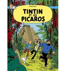 Postal Tintin et les Picaros