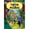 Postal Tintin e os Pícaros