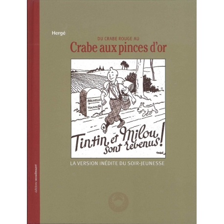 Du crabe rouge au crabe aux pinces d'or