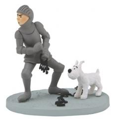 Tintin com Armadura
