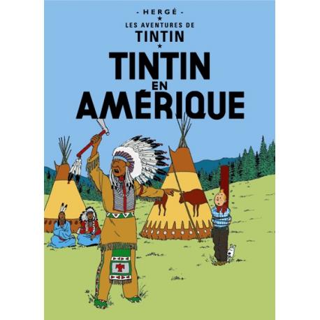 Poster Tintin na América (50 x 70cm)