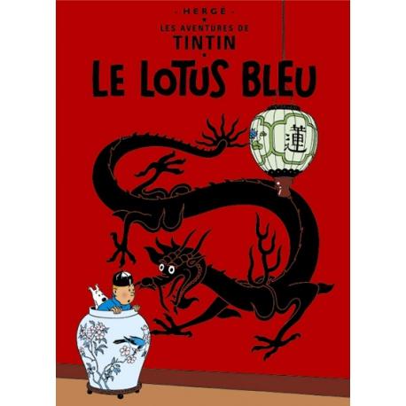 Poster Lotus Azul (50 x 70cm)