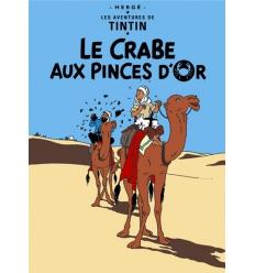 Poster Le Crabe aux Pinces d'Or (50 x 70cm)