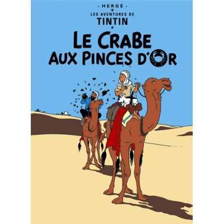 Poster Caranguejo das Tenazes de Ouro (50 x 70cm)