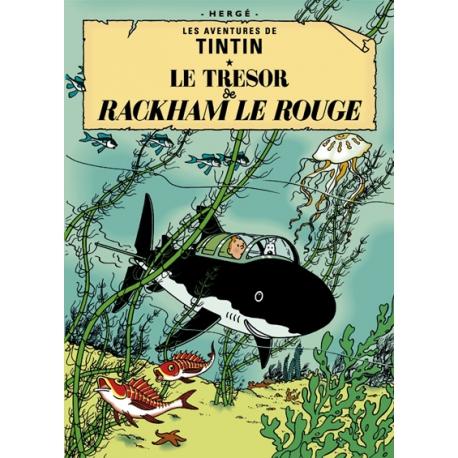 Poster O segredo de Rackham o Terrível