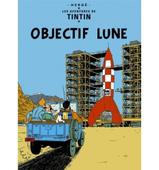 Poster Objectif Lune (50 x 70cm)