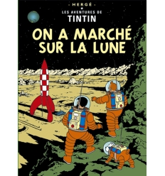 Poster On a marché sur la Lune (50 x 70cm)
