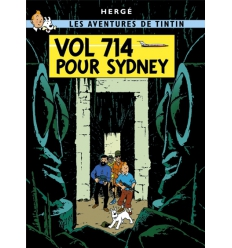 Poster Vol 714 pour Sydney (50 x 70cm)