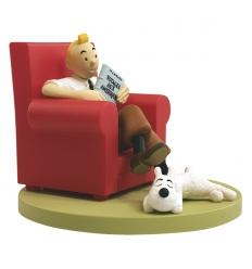 Tintin at home