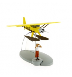 yellow seaplane