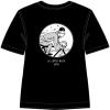 Black T-Shirt Tintin Bicycle