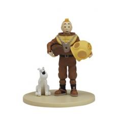 Tintin Fato Mergulho