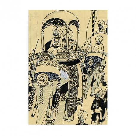 Postcard of Elephant Parade