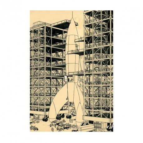 Carte postale Rocket
