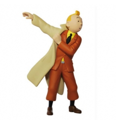 Tintin met son trench