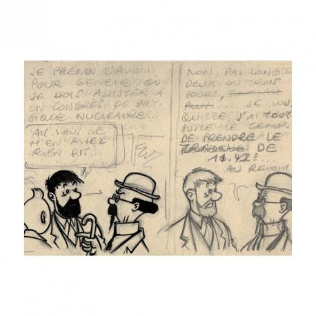 Carte postale Tournesol