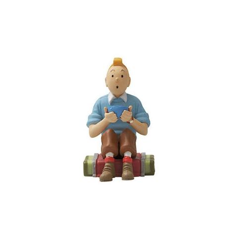 Figura 2 - Tintin sentado no Tibet