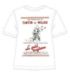 """T-shirt Petit Vingtième """"Tintin et Milou"""""""