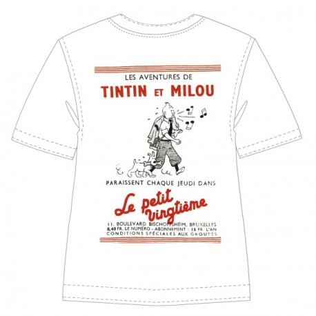 T-Shirt blanc cassé : Le petit vingtième