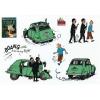 Tintin Stickers: Castafiore's Emerald