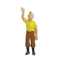 Tintin salue