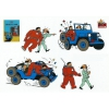 Tintin Stickers: Destination Moon