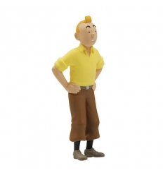 Tintin hands on hips