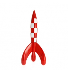 Foguetão Tintin 35cm - ed especial