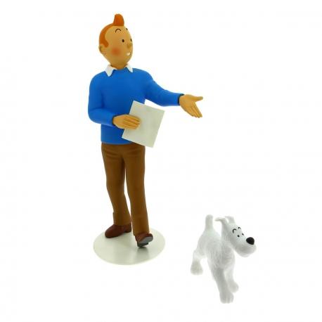 Statuette Tintin & Milou