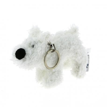 Porte-clés peluche Milou - 8 cm