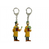 Duo Chinese Thom(p)son keyring